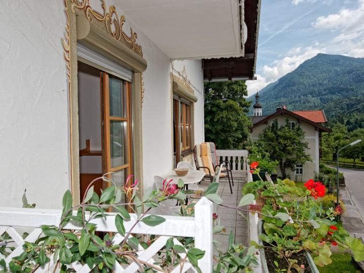 Balkon im Wilden Kaiser